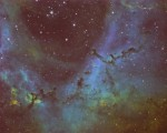 The Rosette Nebula -  Caldwell 49