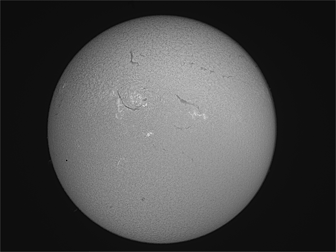 Transit of Mercury 9th May 2016 11:34 UT