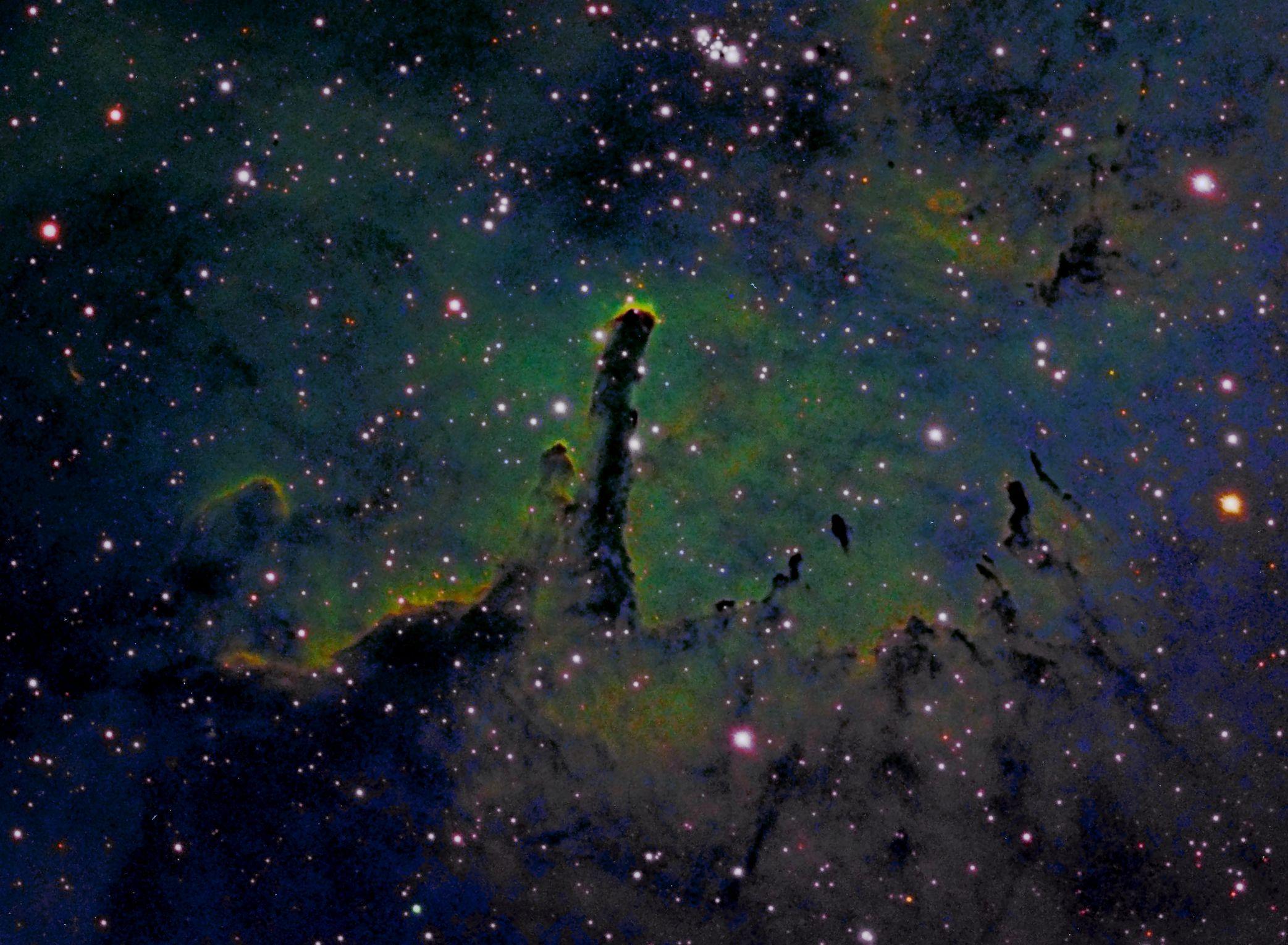 NGC6820 and NGC6823