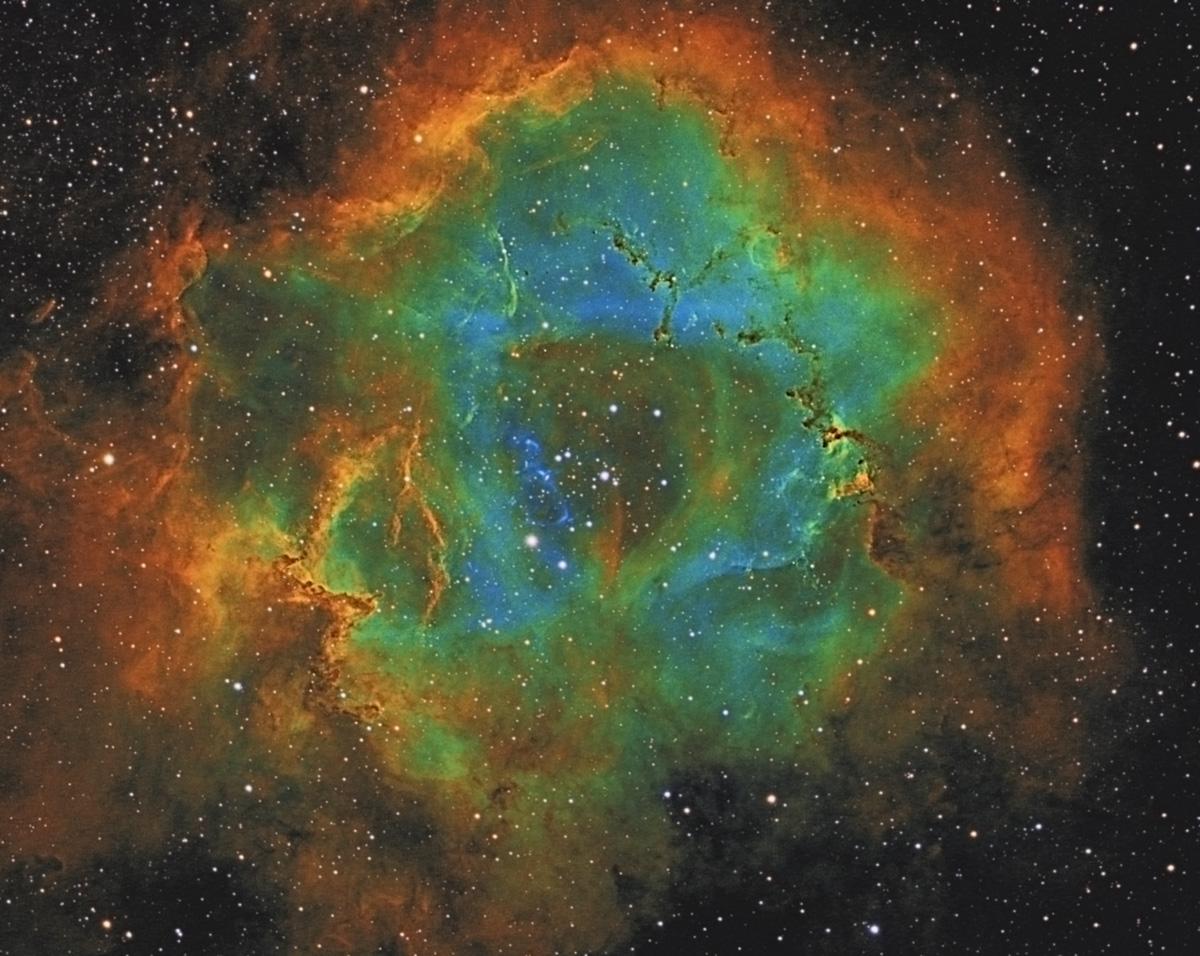 NGC 2244 The Rosette Nebula