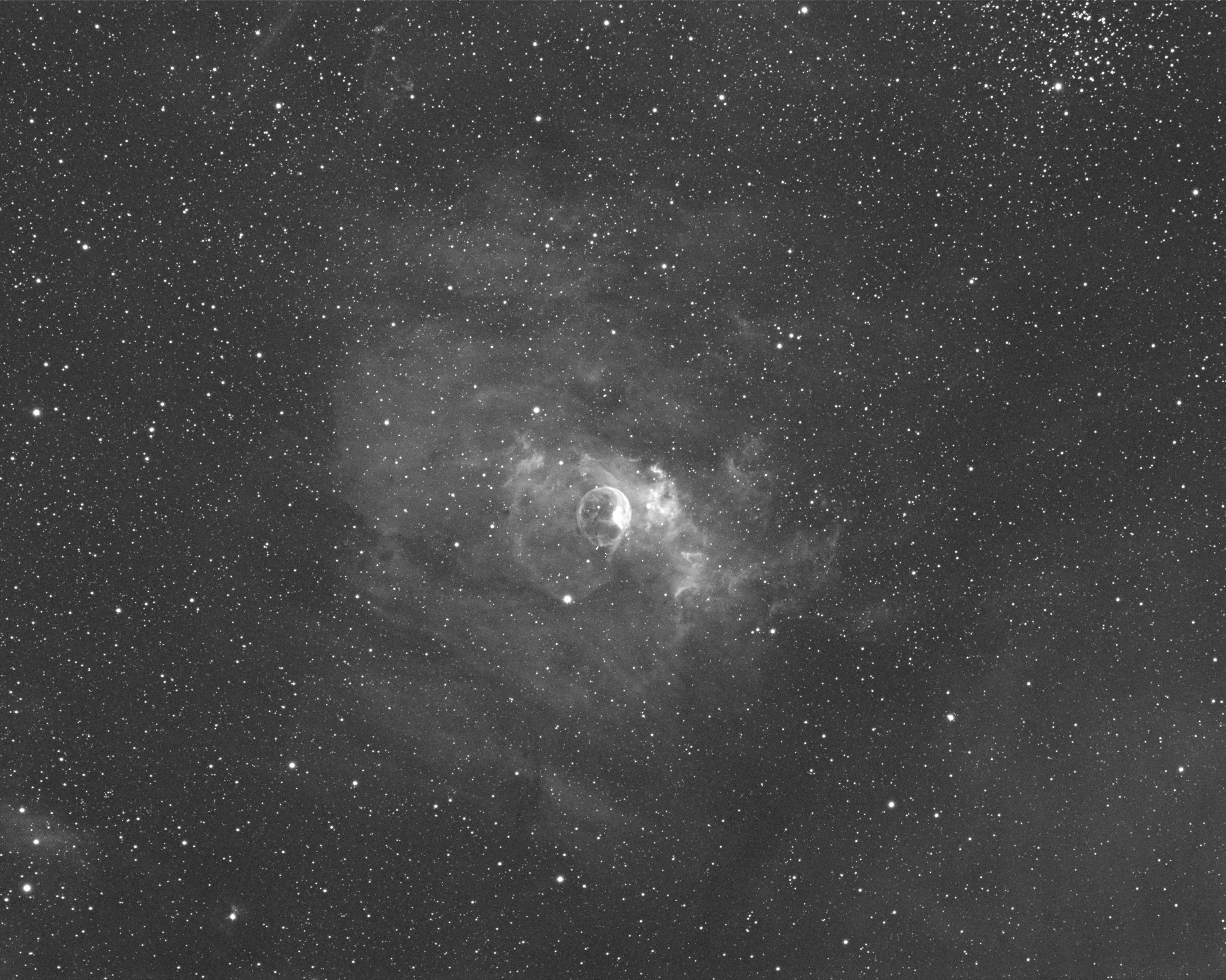 NGC7635 Ha 1800 03oct_001 DDP 2sml smooth Hipass.