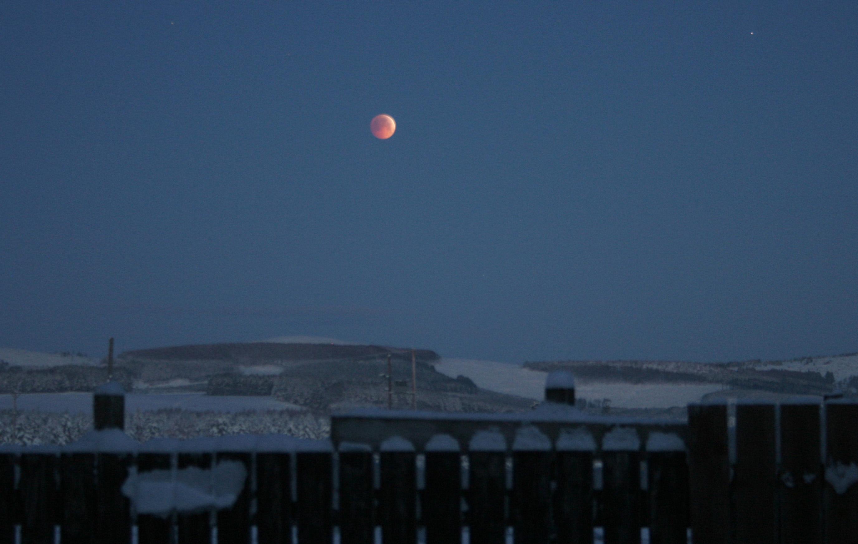 Sauchen Lunar Eclipse