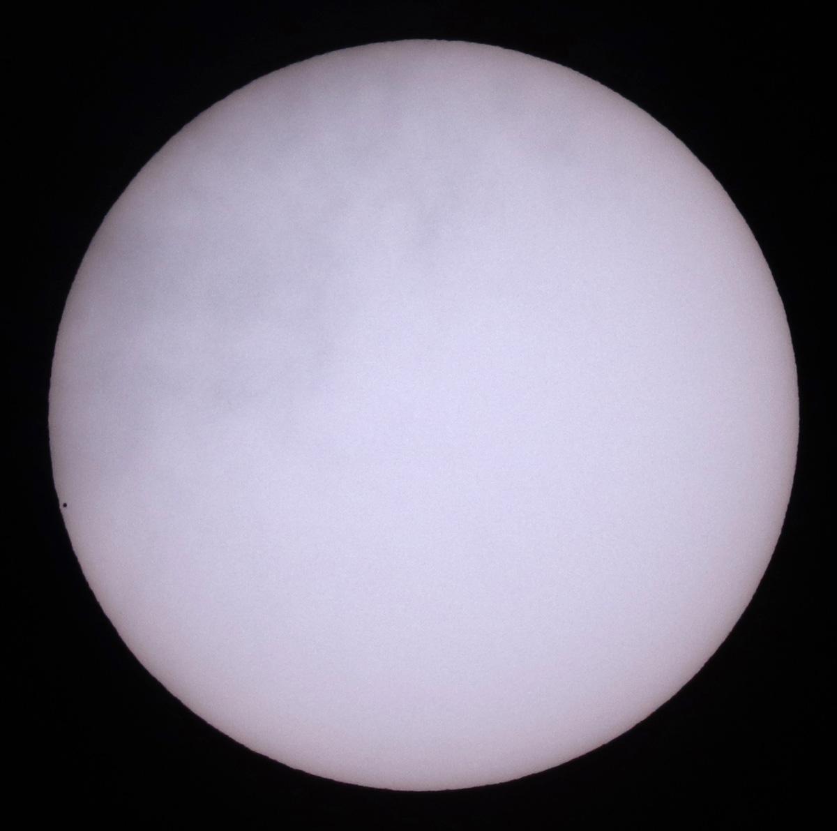 Transit of Mercury @ 12:38GMT