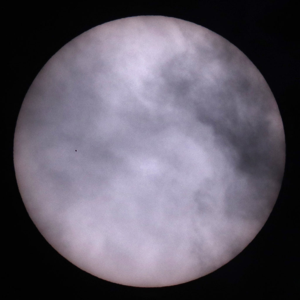 Transit of Mercury @ 13:52GMT